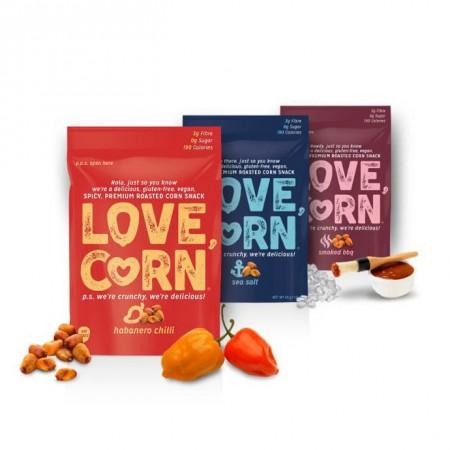 Love Corn Buy 3 get 1 Free - 10 x 45g