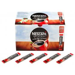 Nescafé Original Coffee Sticks - 200 x 1 Cup Sachets
