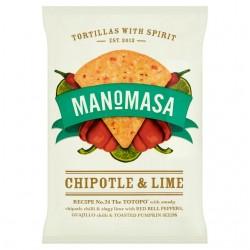 Manomasa - Chipotle & Lime - 10 x 160g
