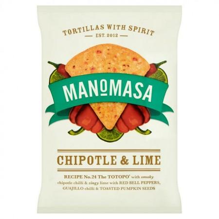 Manomasa - Chipotle & Lime - 16 x 35g