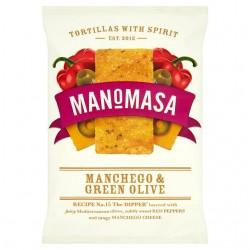 Manomasa - Manchego & Green Olive - 12 x 160g