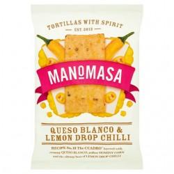 Manomasa - Queso Blanco & Lemon Drop Chilli - 12 x 160g