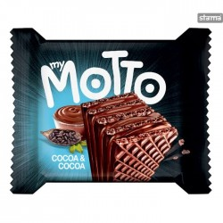 My Motto Wafers - Cocoa & Cocoa - 20 x 34g