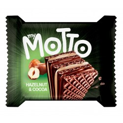 My Motto Wafers - Hazelnut & Cocoa - 20 x 34g