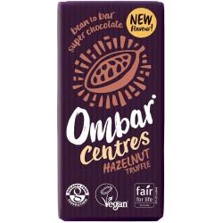 Ombar Raw Organic Chocolate - Hazelnut Truffle 10 x 35g