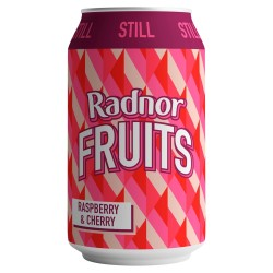 Radnor Fruits - Raspberry & Cherry - 24 x 330ml