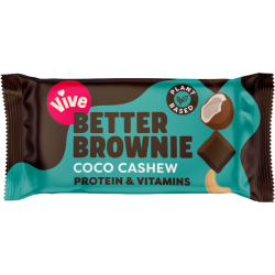 Vive Better Brownie - Coconut Cashew - 15 x 35g