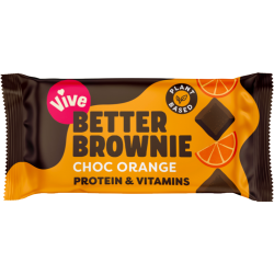 Vive Better Brownie - Chocolate Orange - 15 x 35g