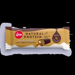 Vive Natural Protein - Mocha Almond - 12 x 49g