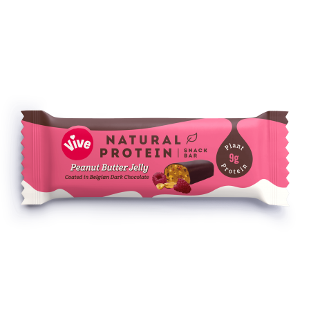 Vive Natural Protein - Peanut Butter Jelly - 12 x 49g