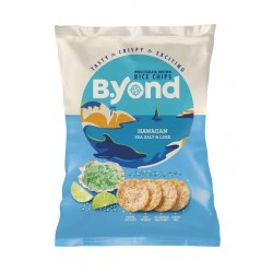 B.Yond Rice Chips Hawaiian Sea Salt & Lime - 10 x 70g