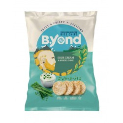 B.Yond Rice Chips Sour Cream & Nordic Chive - 10 x 70g