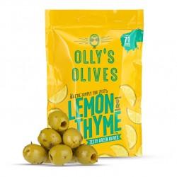 Olly's - Olives - Lemon & Thyme - 12 x 50g