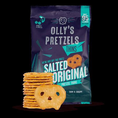 Olly's Pretzels Salted Original - 10 x 35g