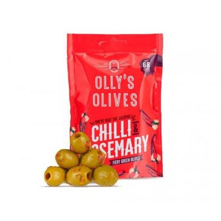 Olly's Olives Chilli & Rosemary - 12 x 50g