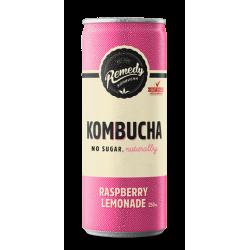 Remedy Kombucha Raspberry Lemonade - 12 x 250ml