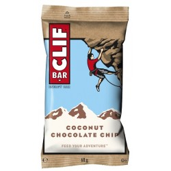Clif Bar - Energy Bar, Coconut Chocolate Chip 12 x 68g