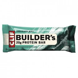 Clif Bar - Builders Bar - Chocolate Mint Flavour 12 x 68g
