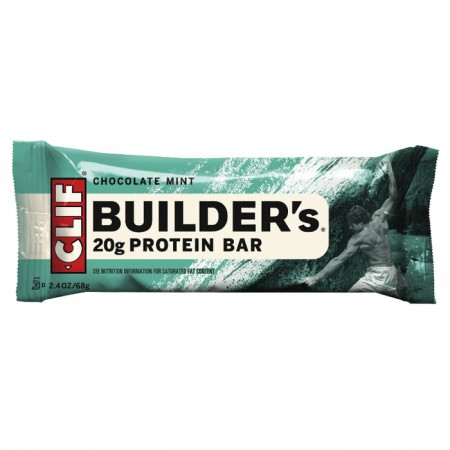 Clif Bar - Builders Bar |  Chocolate Mint Flavour Protein