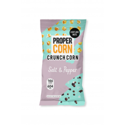 Propercorn Crunch Corn - Salt & Pepper Flavour 15 x 30g