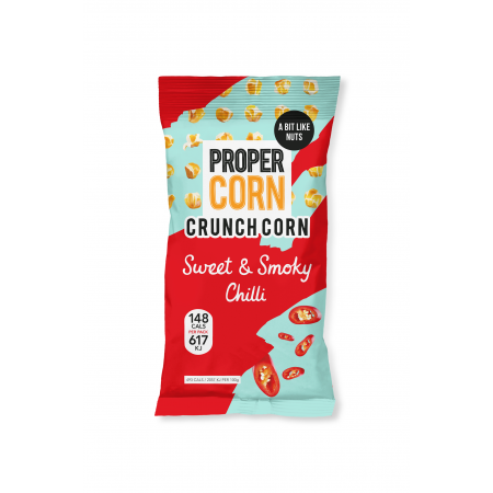 Propercorn Crunch Corn - Sweet & Smoky Chilli 15 x 30g