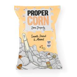 Propercorn Smooth Peanut & Almond Popcorn 12 x 80g