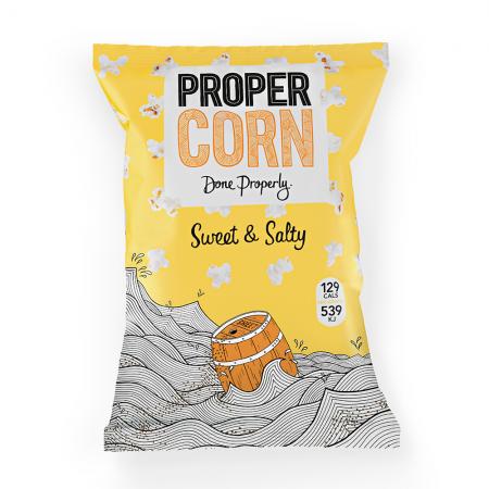 Propercorn Sweet & Salty Popcorn 12 x 80g