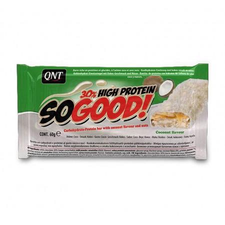 QNT So Good High Protein Bar, Milk Chocolate & Coconut 15 x 60g