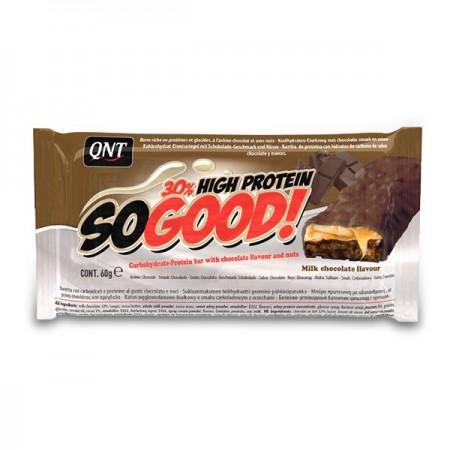 QNT So Good High Protein Bar, Milk Chocolate  15 x 60g