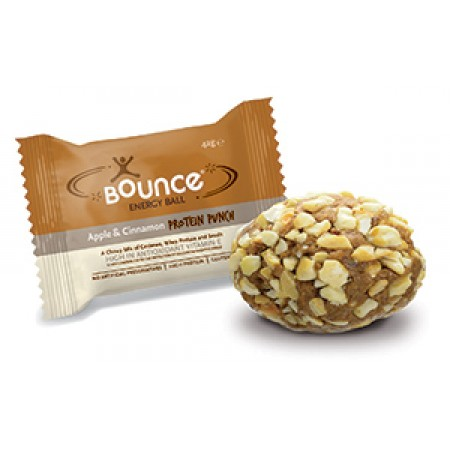 Bounce Energy Balls Apple & Cinnamon Protein Punch 40 x 49g