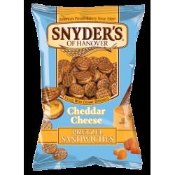 Snyder's Cheddar Cheese Pretzel Sandwiches 10 x 125g