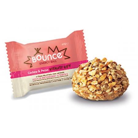 Bounce Energy Balls Cashew & Pecan Vitality Lift 12 x 49g