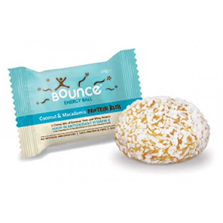Bounce Energy Balls Coconut & Macadamia Protein Bliss 40 x 49g