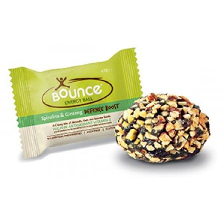 Bounce Energy Balls Spirulina & Ginseng 40 x 49g