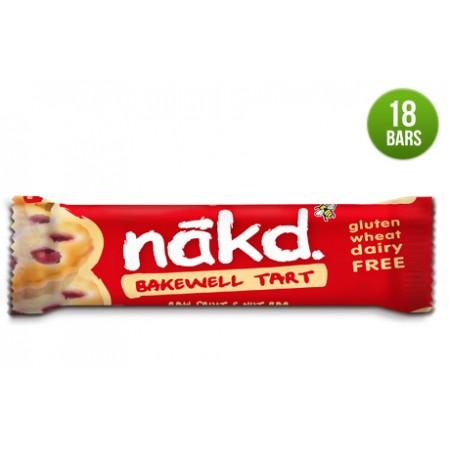 Nakd Bakewell Tart Gluten Free Bars 18 x 35g