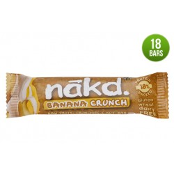 Nakd Banana Crunch Gluten Free Bar 18 x 30g