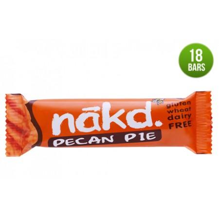 Nakd Pecan Pie Gluten Free Bars 18 x 35g