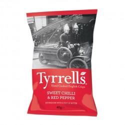 Tyrrell's Sweet Chilli & Red Pepper 24 x 40g