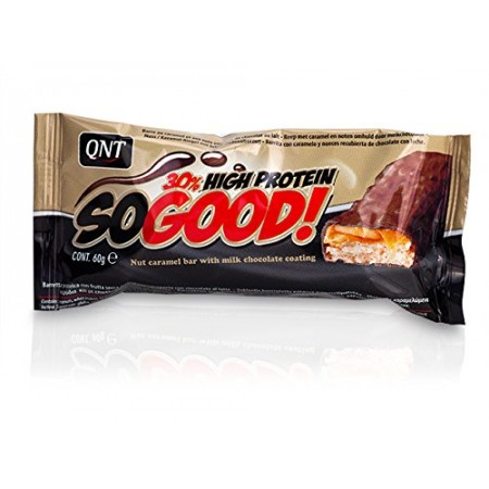 QNT So Good High Protein Bar, Milk Chocolate & Caramel 15 x 60g