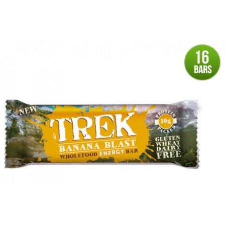 Trek Banana Blast  Protein Bar 16 x 55g