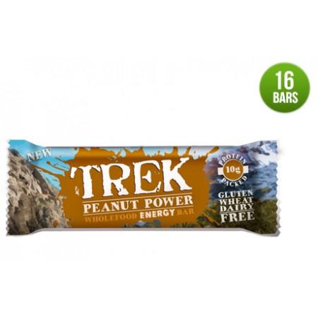 Trek Peanut Power Protein Bar 16 x 55g