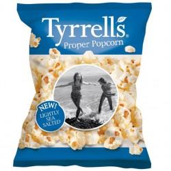 Tyrrells Lightly Sea Salted Popcorn 24 x 20g