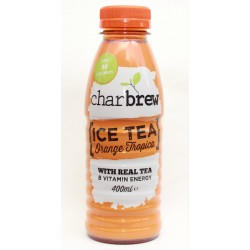 Charbrew Ice Tea Orange Tropical 12 x 400ml