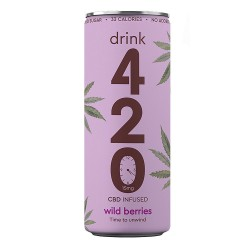 Drink 420 - CBD Infused Wild Berries - 12 x 250ml