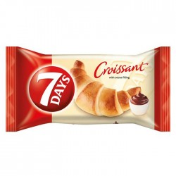 7-Days Croissant with Cocoa Filling - 20 x 80g