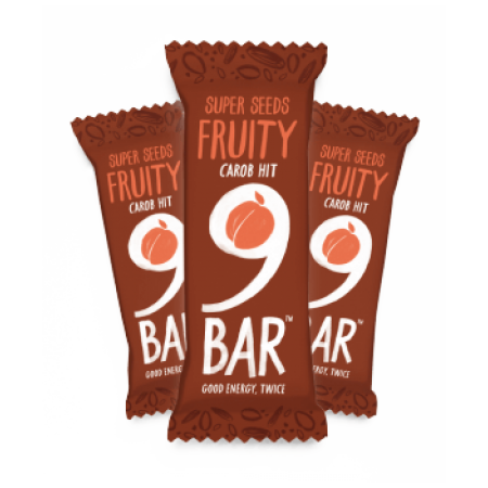 9 Bar Fruity 16 x 50g