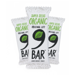 9 Bar Organic 16 x 50g