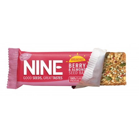 9Nine Brand Breakfast Berry & Almond 16 x 50g
