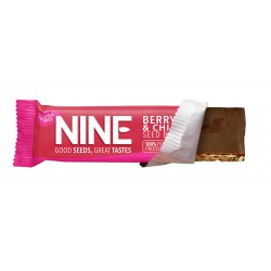 9Nine Brand Berry & Chia 20 x 40g