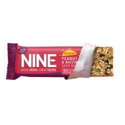 9Nine Brand Breakfast Peanut & Raisin 16 x 50g